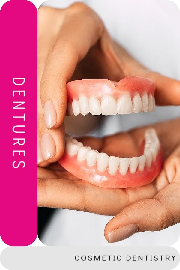 تكلفة أطقم الأسنان